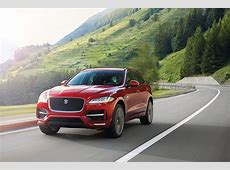 New Jaguar FPace SUV Frankfurt debut, prices, engines