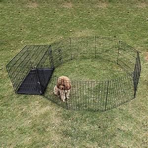 ollieroor dog playpen with door exercise pen pet outdoor With small dog fences for outside