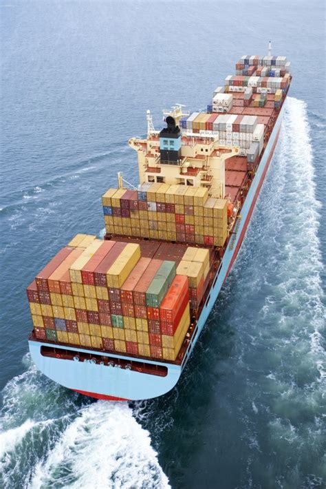 Shipping Boat Picture by Sky Metal Cargo Ship Heavy Container Photo Free