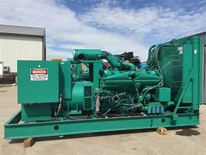 750 Kw Cummins Onan Generator  12 Lead Reconnectable  1  3 Phase  480 Volt