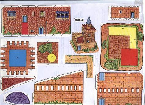 recortables maquetas y juegos en papel todorecortables sue 209 os de papel castillos recortables