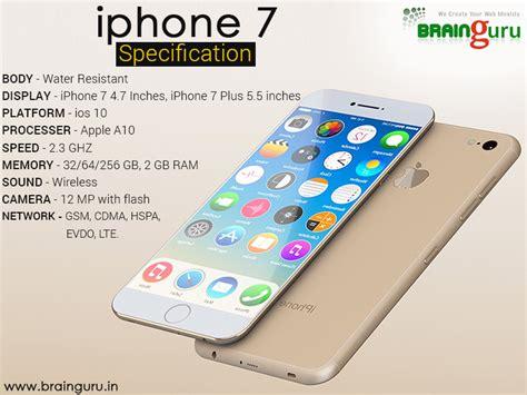 apple iphone 7 features apple iphone 7 and 7 plus launch brainguru technologies