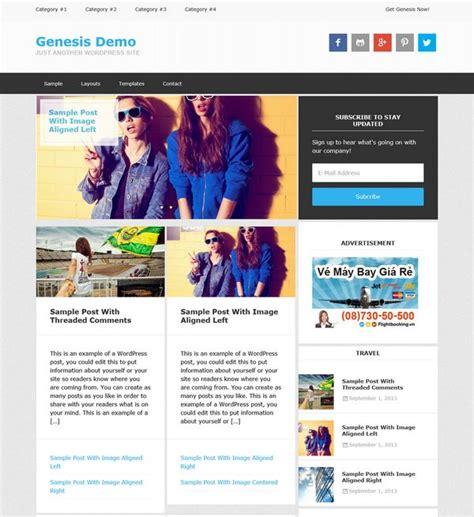 Free Genesis Child Themes 16 Best Wp Theme Genesis Child Themes Images On
