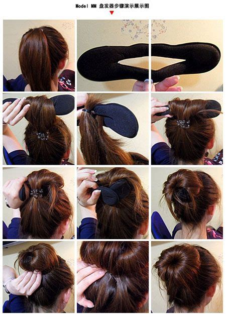easy hair styles for school 17 best ideas about bun maker on buns and buns 3608