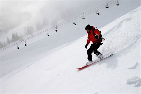 High Resolution Sports Images Free Picture Snow Winter Sport Hill Skier Mountain Snowboard Cold Sport