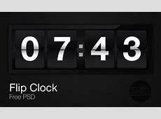 Flip Clock PSD by monographic on DeviantArt