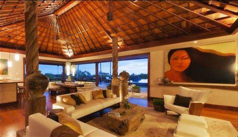 polynesian style contruction house plans  home