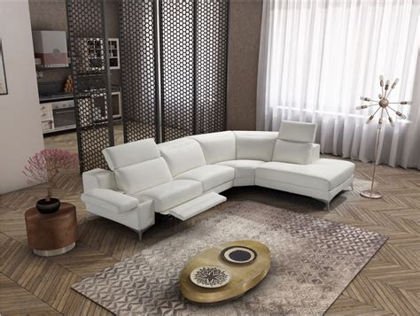 estro salotti hypnose italian modern white leather