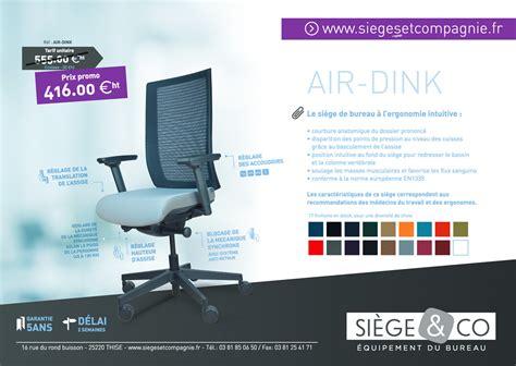 air siege promotion siège ergonomique air dink sièges et compagnie