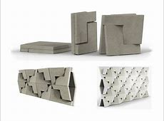 Folding Concrete?! FlatPack Building Blocks of the Future