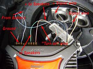 Nissan Murano Bose Subwoofer Wiring