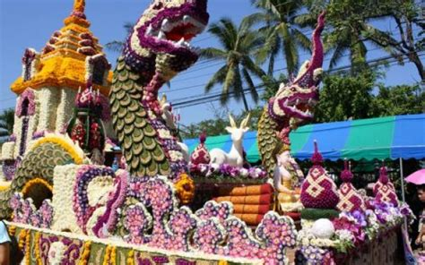 Dragon Boat Festival 2018 Thailand by Chiang Mai Flower Festival 2018 2018 In Chiang Mai