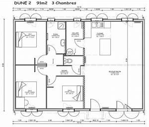 modele et plans sylveal dune du constructeur les maisons With modele plan de maison