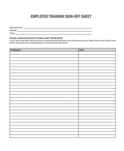 sample sign  form templates