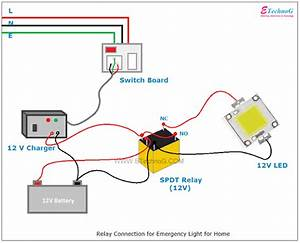 Wiring Diagram For Emergency Lighting Switch