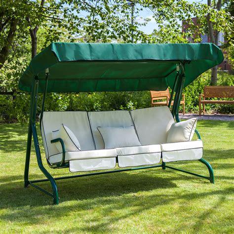 luxury garden swing seats rattan wicker  chair