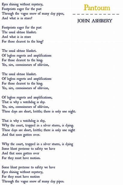Pantoum Poems Weaving Word Let