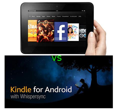 kindle android comparing reading features on kindle and kindle