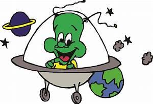 Alien Spaceship Clipart - Free Clip Art - Clipart Bay