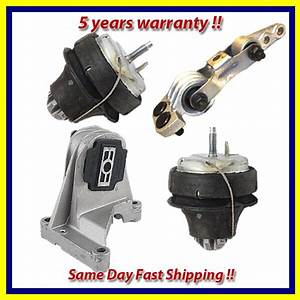 2003-2007 Volvo Xc70  Xc90 2 5l Engine Motor Mount Set 4pcs