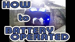 How To Battery Operated Mio Sporty
