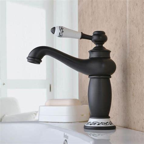 armaturen bad landhausstil eu lager waschtischarmatur schwarz einhandmischer retro