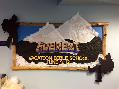 Decorating Ideas For Everest Vbs by 3d Advertisement For Everest Vbs Everest Vbs