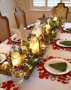 Table De Fete Decoration Noel : d coration de table de no l pour une atmosph re magique ~ Zukunftsfamilie.com Idées de Décoration