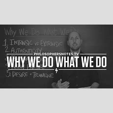 Pntv Why We Do What We Do By Edward Deci Youtube