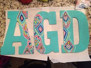 alpha gamma delta decorated letters aye gee dee With letters to decorate