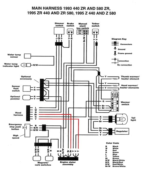 Wiring Diagram With Schematic For A 1998 400 4x4 Arctic Cat Atv by 1990 Yamaha Atv Wiring Diagram Wiring Diagram Database