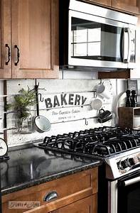 50 best images about backsplashes and countertops on for Kitchen colors with white cabinets with wooden wall art signs