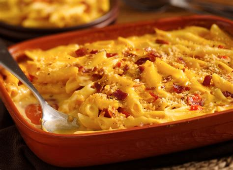 bacon mac and cheese bacon and cheddar macaroni cheese recipe dishmaps