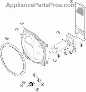 Parts For Maytag Sdg3606aww  Rear Bulkhead  Roller  U0026 Air
