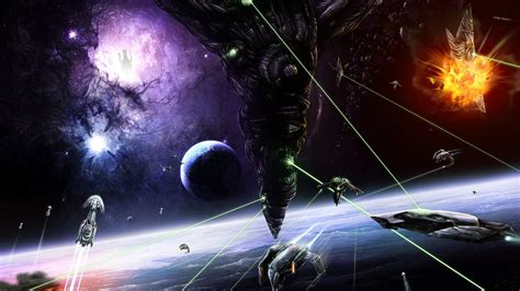 outer space wallpaper  wallpoper