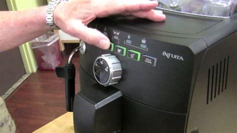 Crew Review: Saeco Intuita Superautomatic Espresso Machine   YouTube