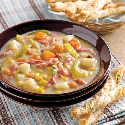 cuisine d automne chaudrée d 39 automne recettes cuisine et nutrition