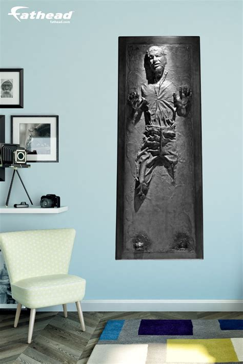 han solo  carbonite life size officially licensed