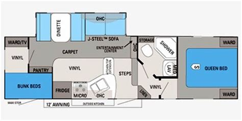 2012 Jayco 5th Wheel Floor Plans by 2012 Jayco Eagle Ht Lite Fifth Wheel Series M 27 5