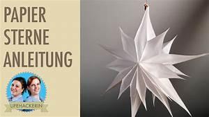 Sterne Aus Butterbrottüten Basteln : papiert ten stern basteln diy aus butterbrott ten weihnachts deko youtube ~ Watch28wear.com Haus und Dekorationen