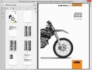 Ktm 250 Sx-f Xc-f  2014  - Service Manual