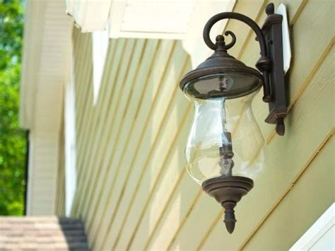types of outdoor lighting diy