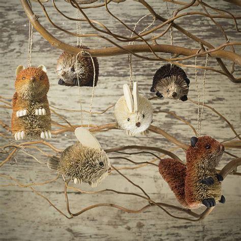 woodland animal christmas decoration   christmas home