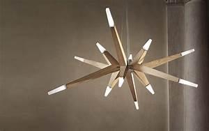 Lustre Bois Design : lustre design bois design en image ~ Teatrodelosmanantiales.com Idées de Décoration