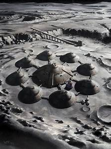 Nazi Moonbase - Moon Base by wraithdt on DeviantArt