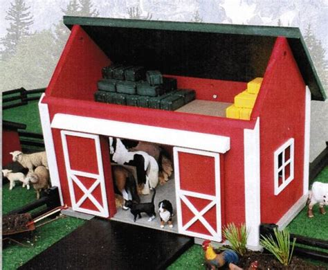 Amish Farm Toy Sets For Kids Basic Barn Collection 18