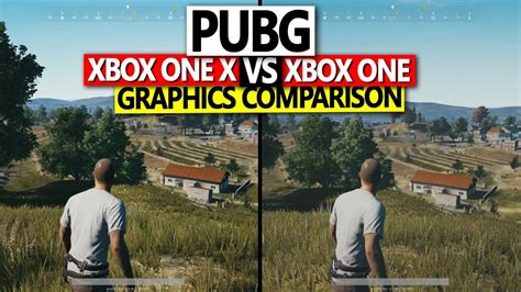 playerunknown s battlegrounds xbox one x vs xbox one graphics comparison no commentary