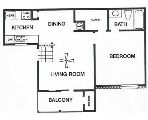 floor plans one bedroom plan b sundance tx