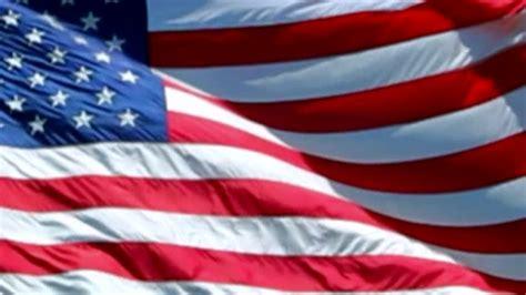 american flag   july memorial day background loop