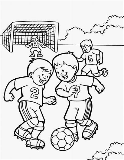 Coloring Pages Exercise Fitness Brazil Printable Preschoolers